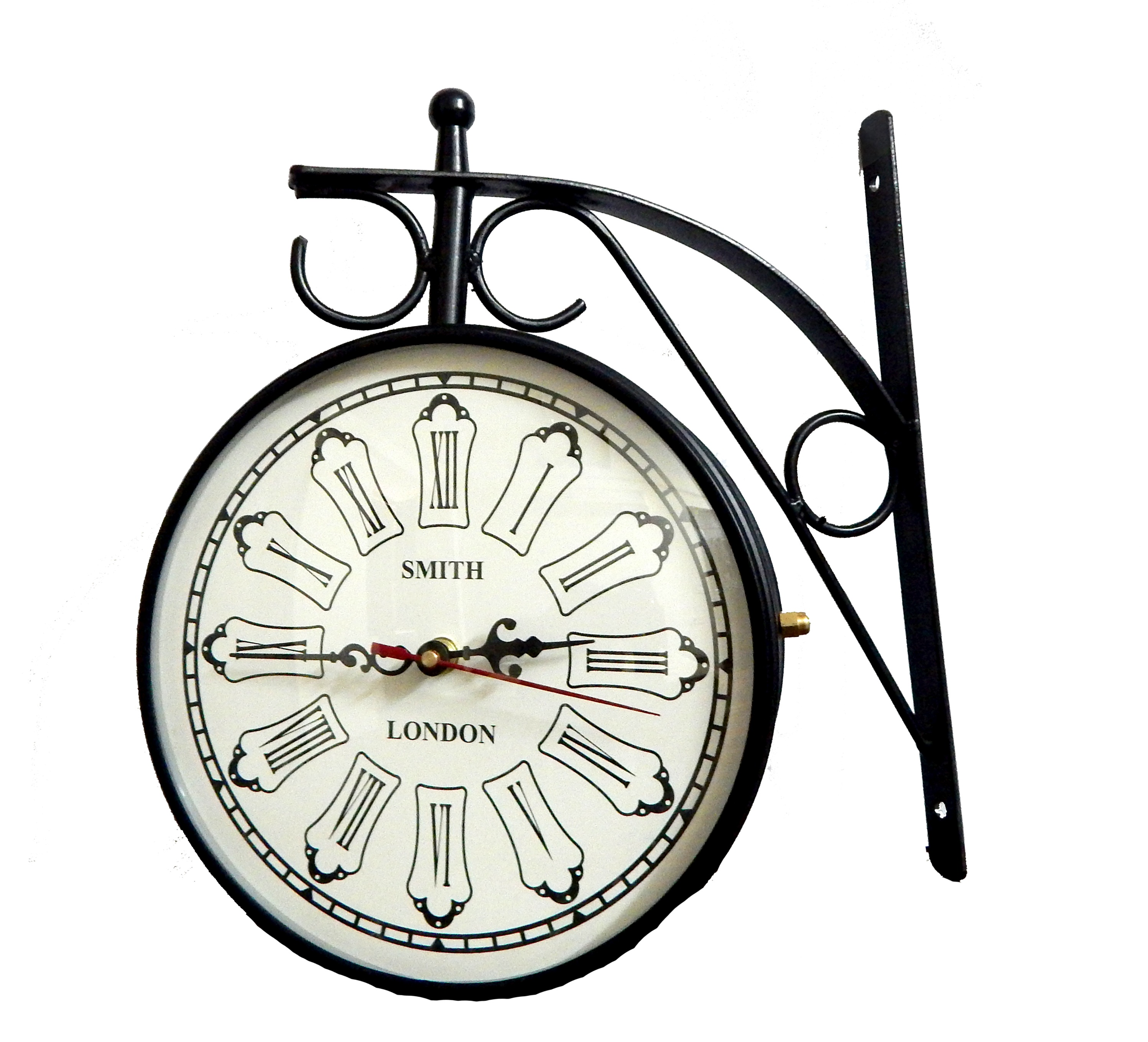 6 inch double side antique wall clock