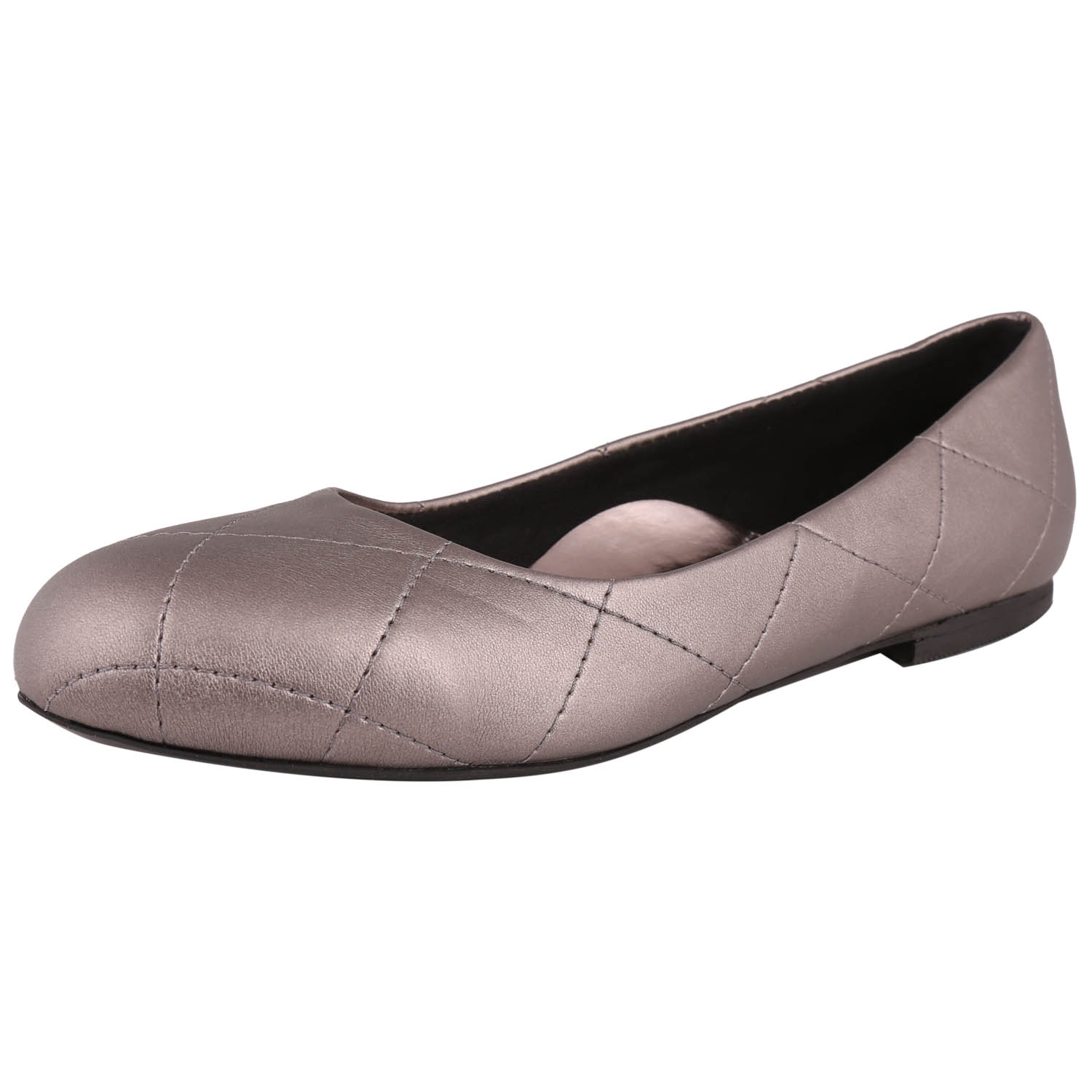 Exotique Stylish Gray Flat Ballerina -EL0006GN