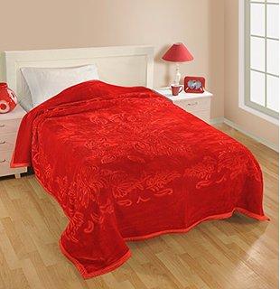 Super Soft Double bed mink blanket