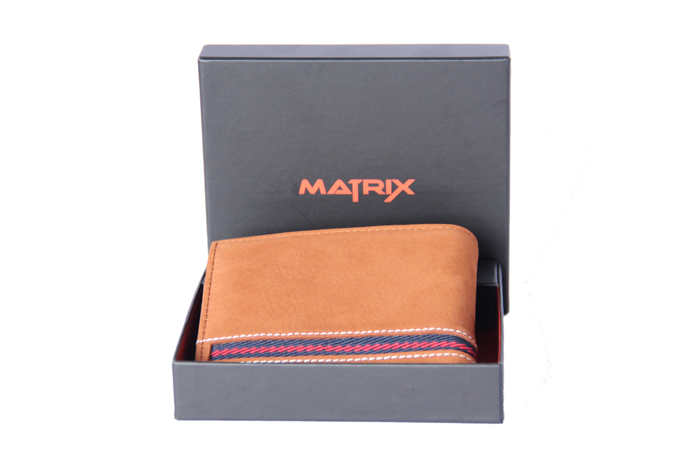 Matrix Leather Wallet For Men (MMW104)