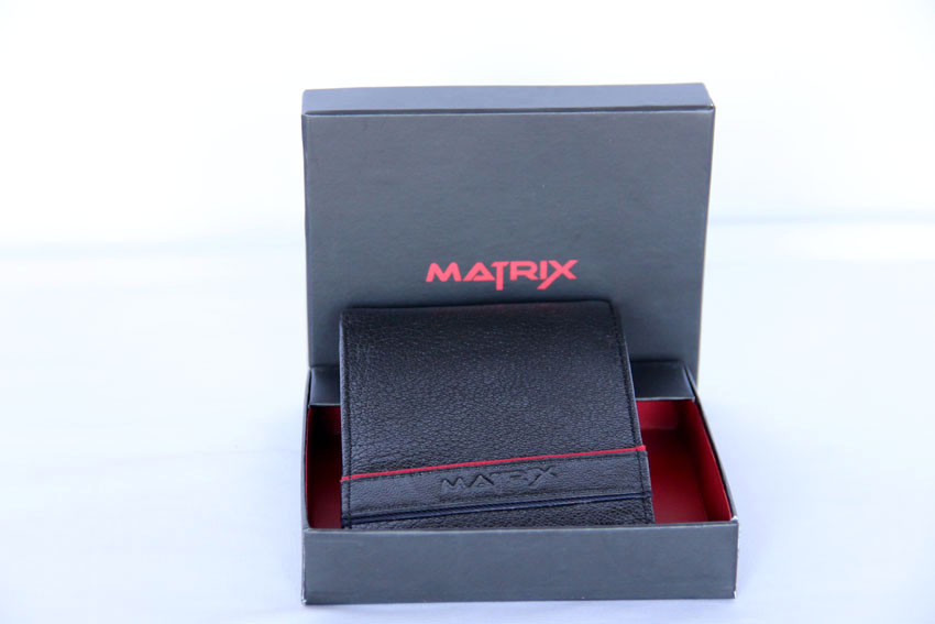 Matrix Leather Wallet For Men (MMW108)