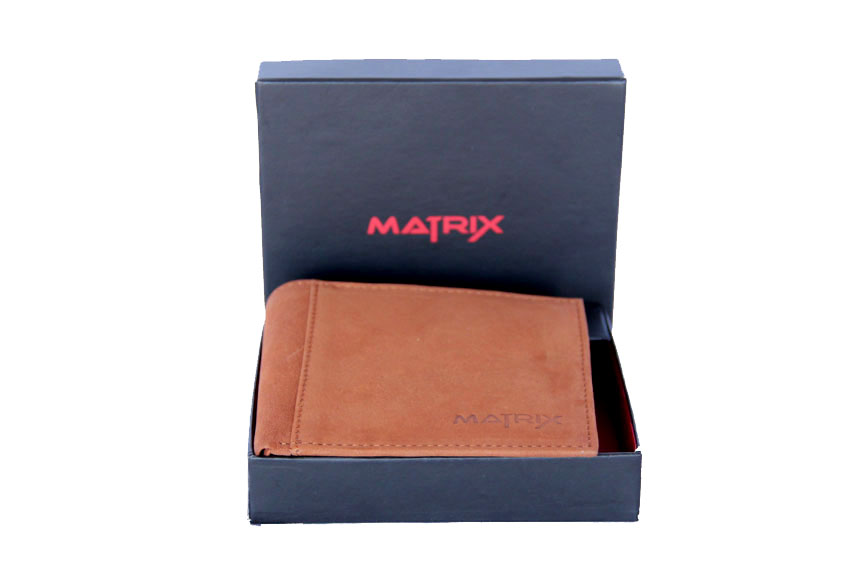 Matrix Leather Wallet For Men (MMW109)