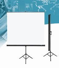 Tipod projection screens