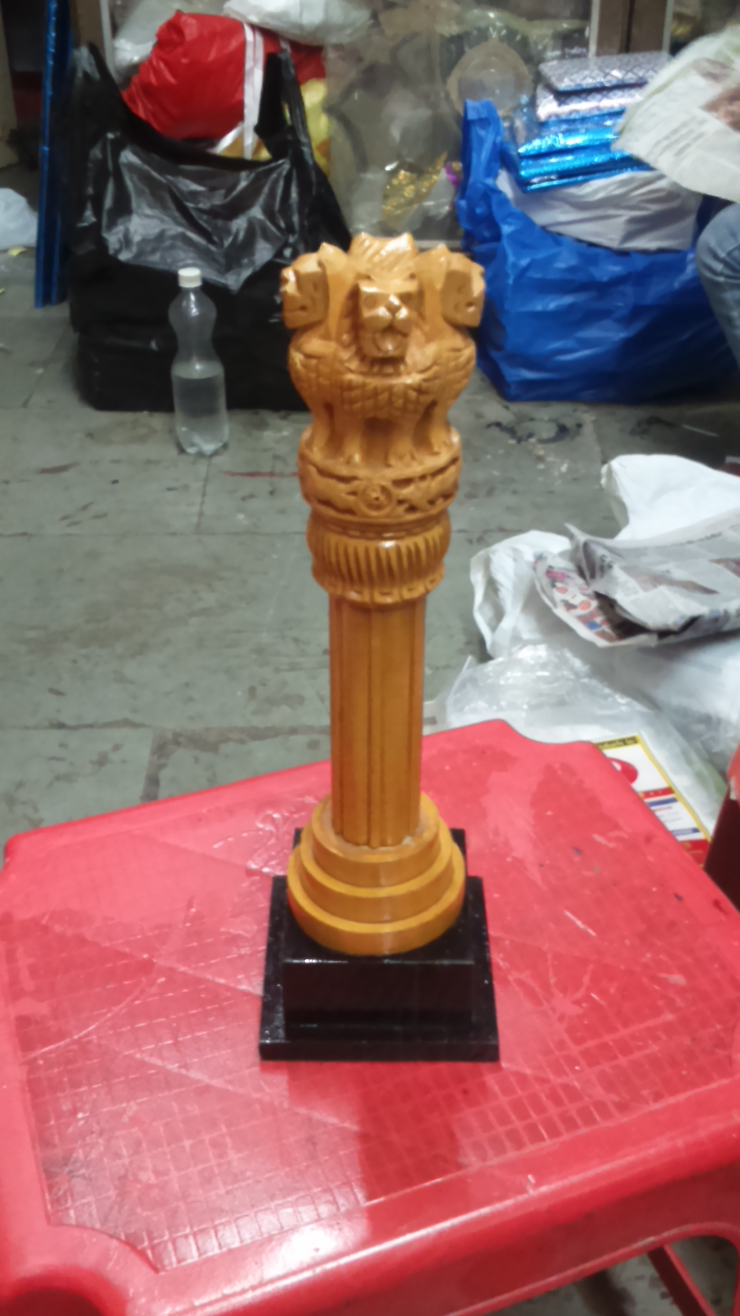 Ashoka Pillar With Stand 10 inches