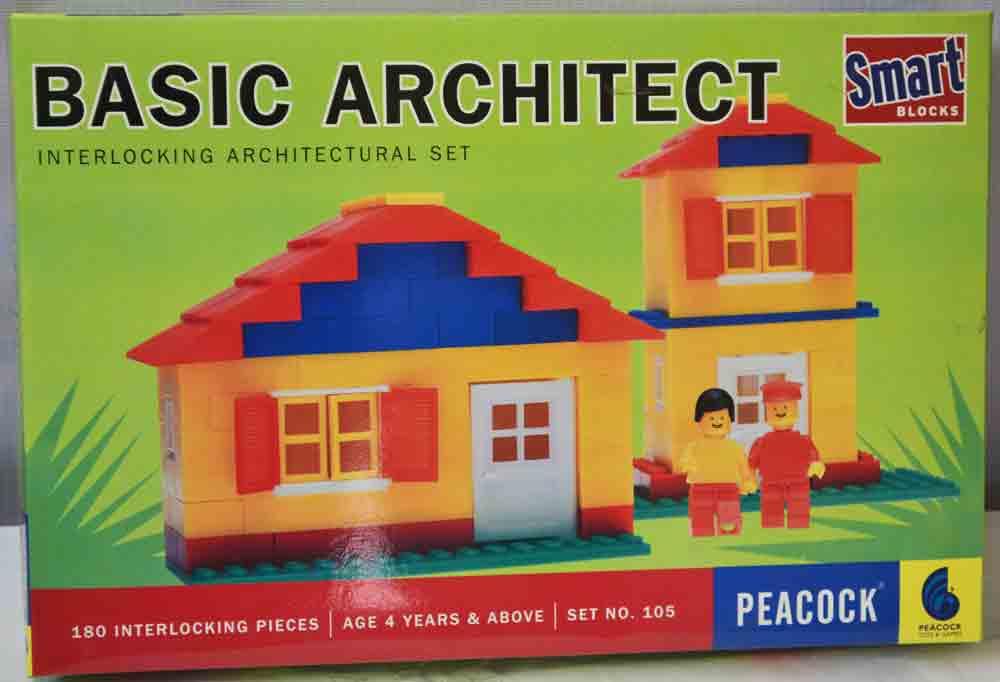 Basic Interlocking Architectural  Block Set