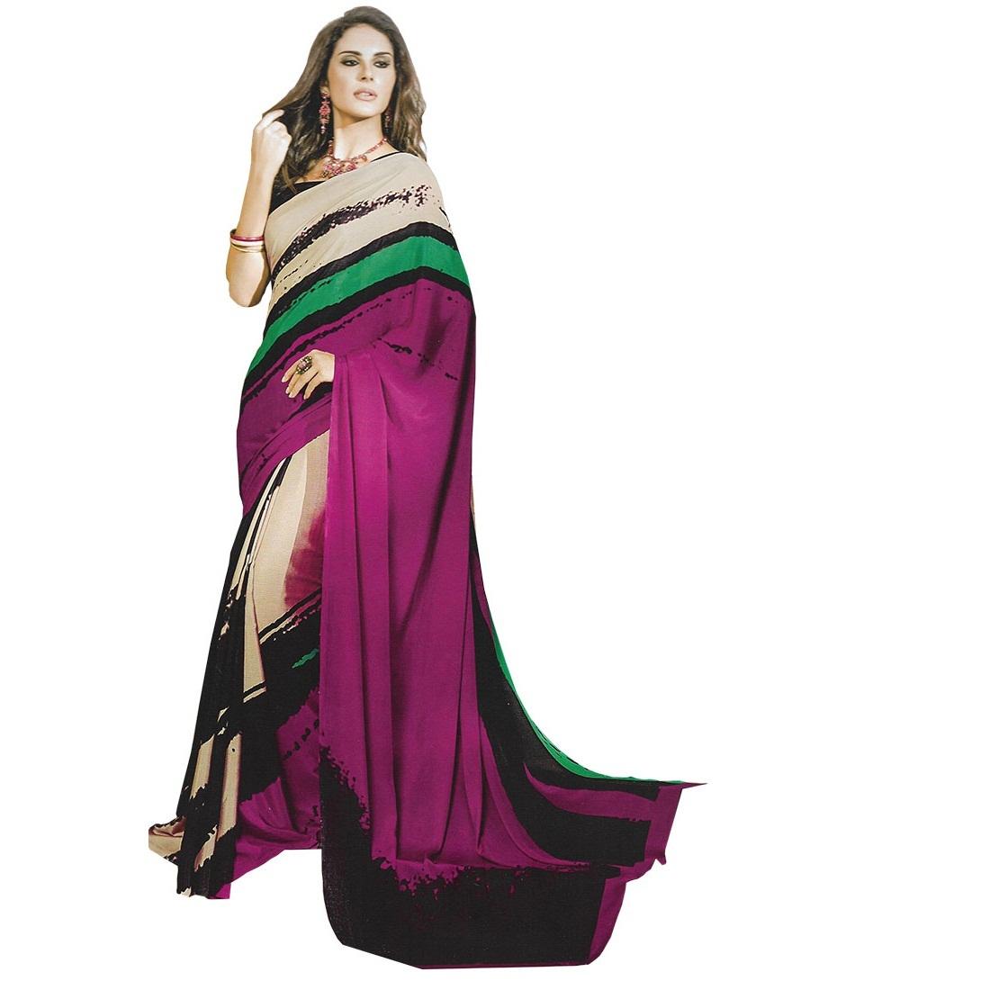 designer saree 8005