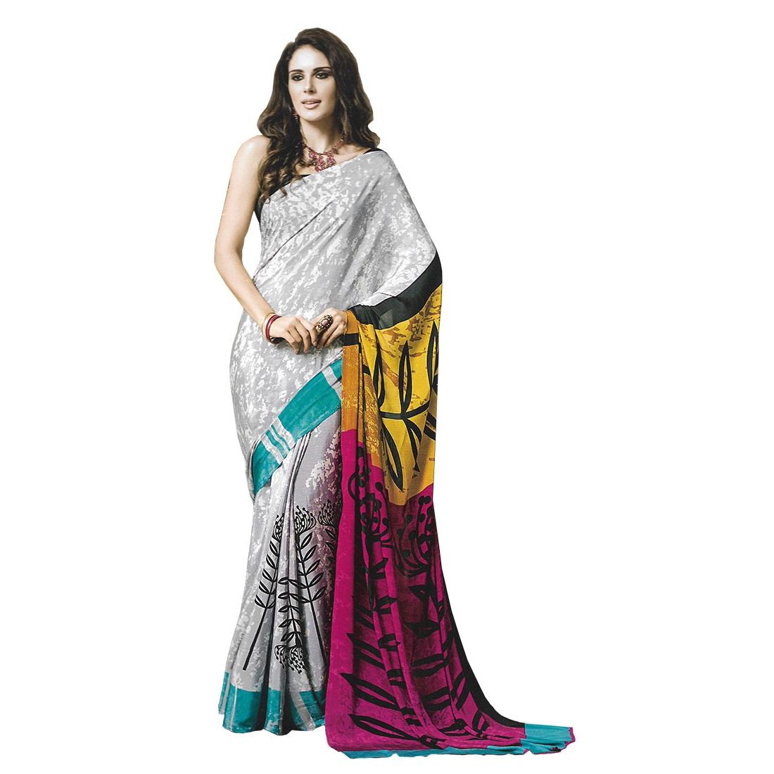 designer saree 8009