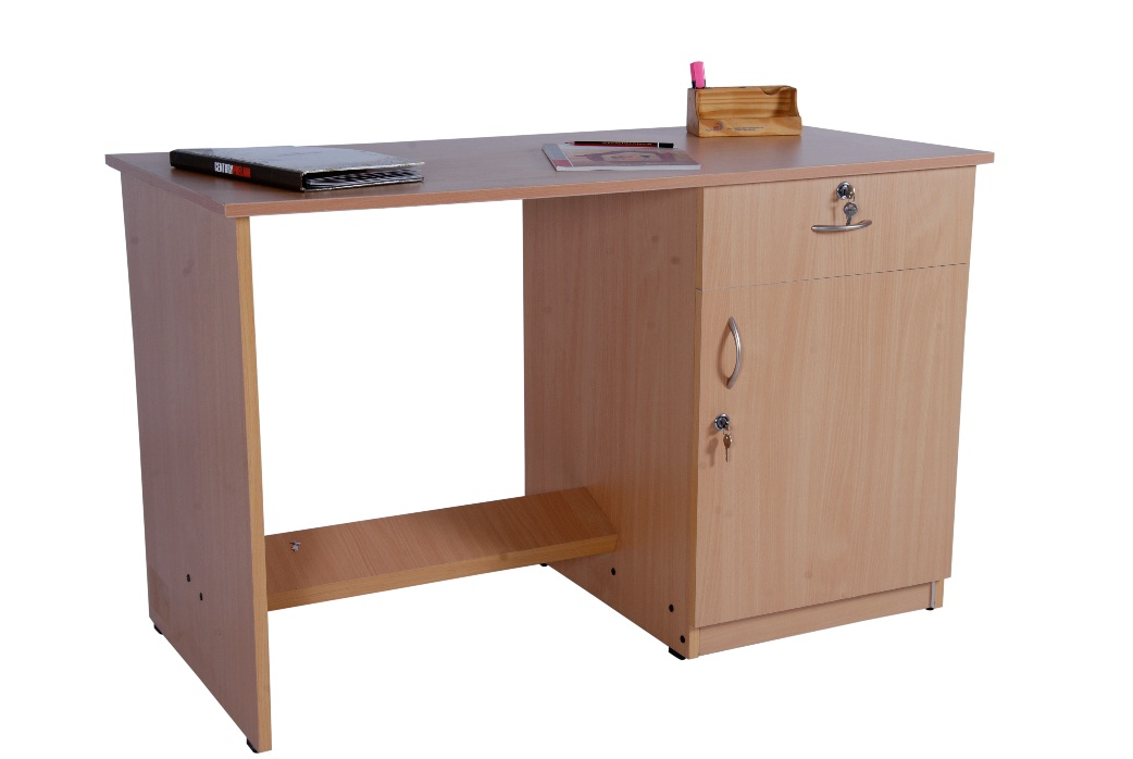 Office table - Drawer with door