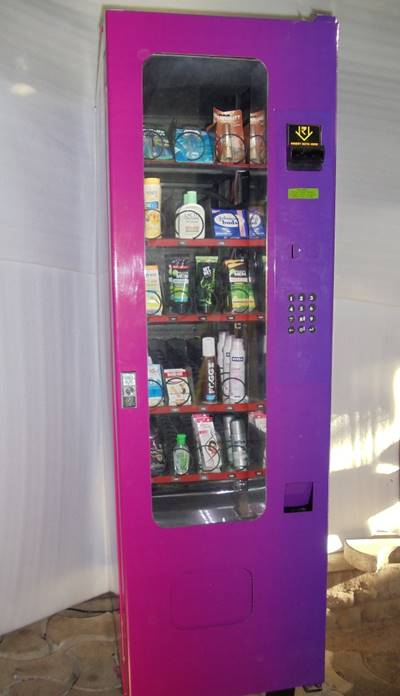 Personal care vending machine