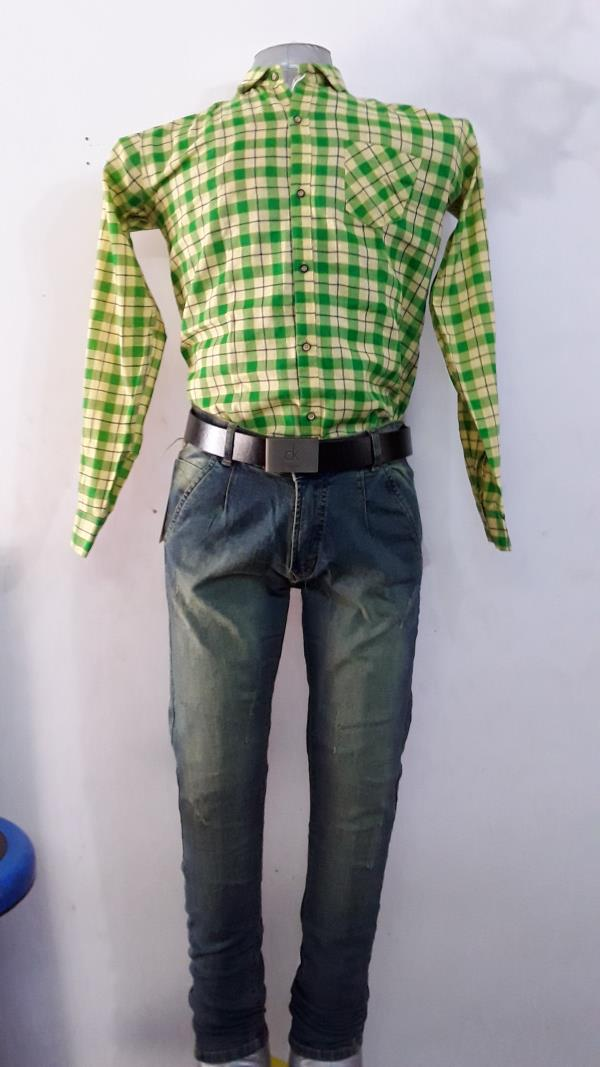 Full Pair with Leather Belt
