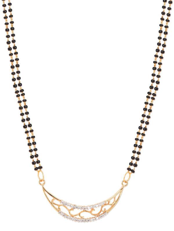 Aradhyaa Jewel Arts-Arl141-22crt Gold Plated mangalsutra
