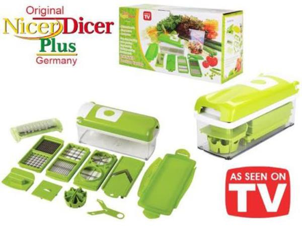 Nicer Dicer Plus Vegetable & Fruit Cutter Slicer Chopper Excellent Quality!!!