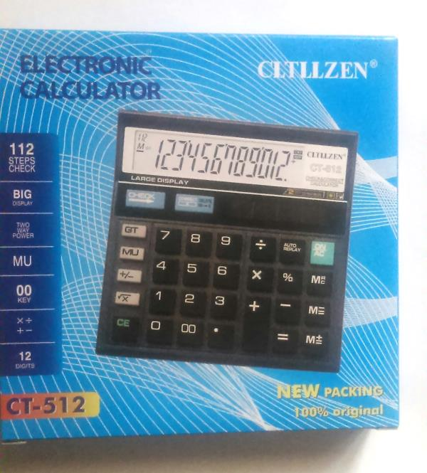 HIGH-QUALITY-CT-512-12-DIGITS-CALCULATOR-WITH-DUAL-POWER-BIG-DISPLAY     HIGH-QUALITY-CT-512-12-DIGITS-CALCULATOR-WITH-DUAL-POWER-BIG-DISPLAY     HIGH-QUALITY-CT-512-12-DIGITS-CALCULATOR-WITH-DUAL-POWER-BIG-DISPLAY  Have one to sell? Sell it yourself Details about  HIGH QUALITY CT-512 12 DIGITS CALCULATOR WITH DUAL POWER & BIG DISPLAY