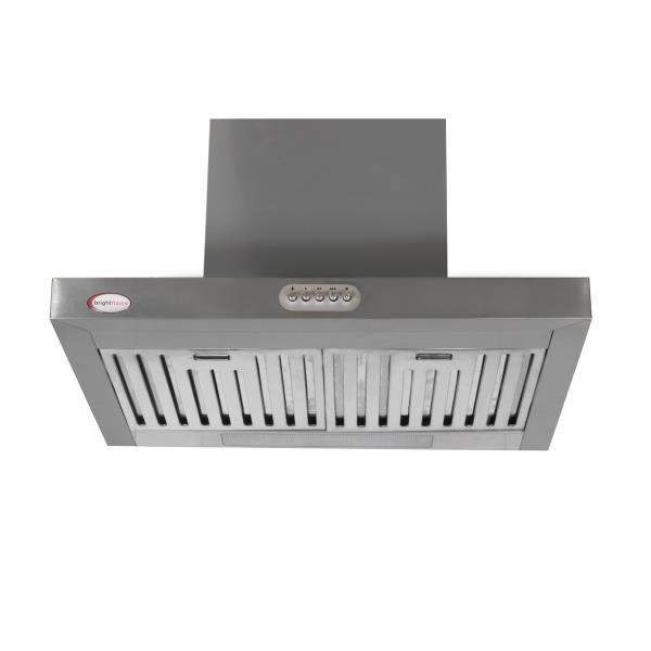 Brightflame Kitchen Chimney Lily Stainless Steel Single Bidding 1100M3/Hr 60 CM