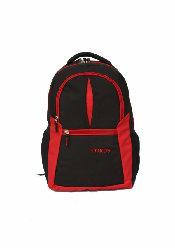 Laptop Backpack Red_Black