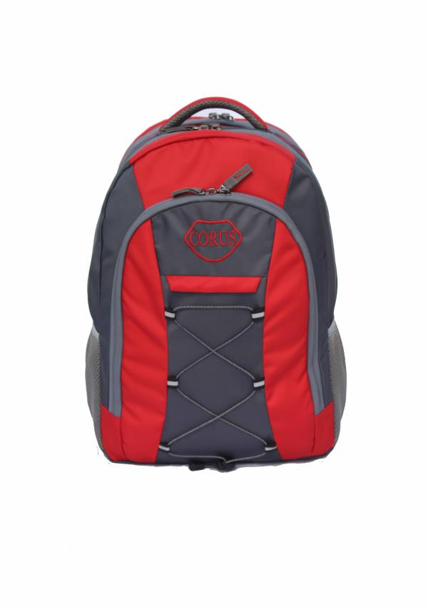 Laptop Backpack RedGrey For Corus
