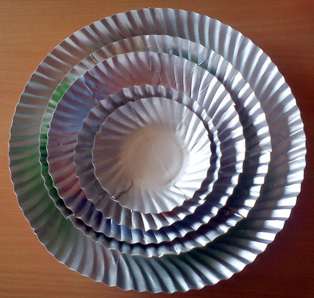 Paper Plates 6 No - 70 Pc